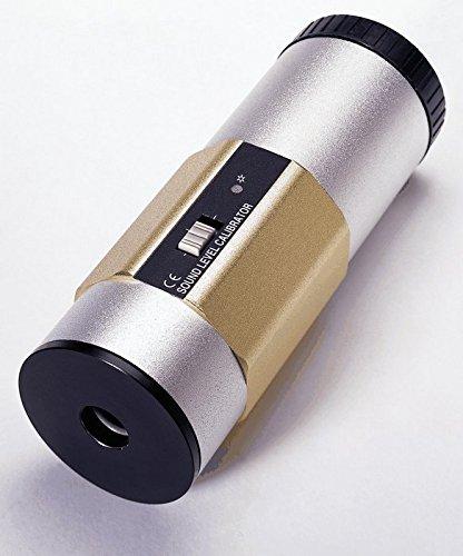 Extech 407766 Dual Sound Lever Calibrator; 94 and 114 db 114 Db Sound Calibrator