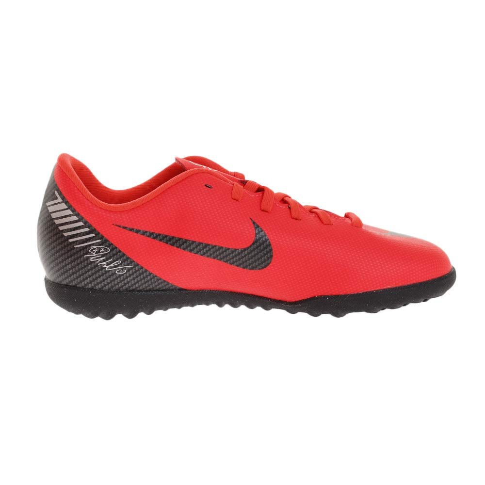 best sneakers 79a09 627a1 Nike Junior CR7 Mercurial Vapor XII Club TF Football Boot- Bright Crimson -  UK 2, BRIGHT CRIMSON BLACK-CHROME  Amazon.co.uk  Shoes   Bags
