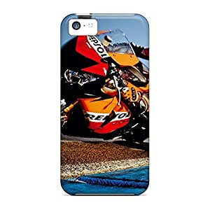 durable mobile phone carrying covers Protective Highquality iphone 5 / 5s - honda motorcycle racing