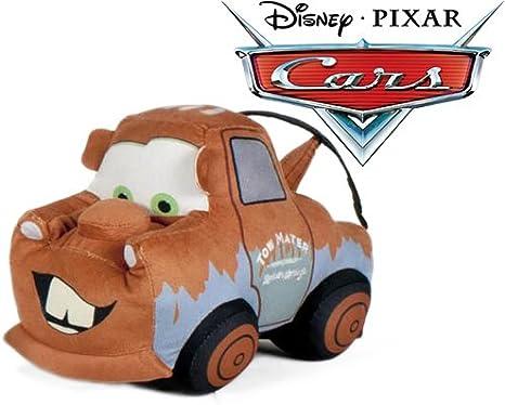 Cars - Peluche grua camion marron Mater 24cm Calidad super soft