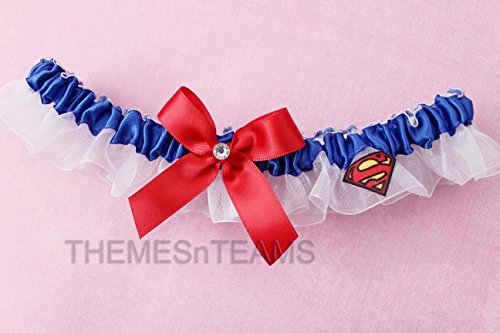 customizable-handmade-white-blue-red-superman-fabric-made-into-wedding-prom-bridal-armband-garter-tn