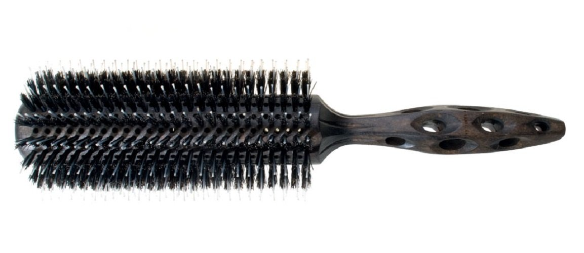 YS Park Hair Brush - Extra Long Styler Straight Pin/Boar - Round - Small - ys100EL4