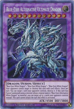 Blue-Eyes Alternative Ultimate Dragon - TN19-EN001 - Prismatic Secret Rare - Limited Edition (Best Synchro Monsters 2019)