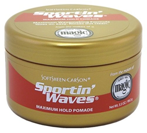 (SoftSheen-Carson Sportin Waves Maximum Hold Pomade 3.5 Oz. (6 Pack) )