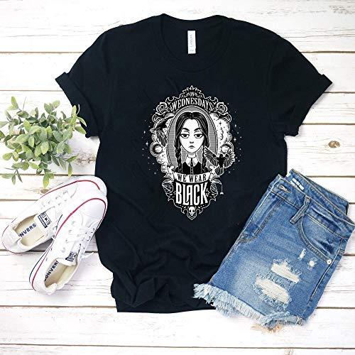 On Wednesdays We Wear Black Gift for men woman (On Wednesdays We Wear Black T Shirt)