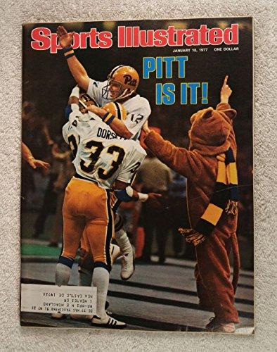 Panthers - 1976 National Champions! - Sugar Bowl - Sports Illustrated - January 10, 1977 - College Football - SI (1977 Sports Illustrated Magazine)