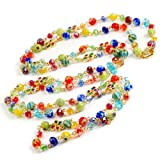 Sweet Romance Long Candy Beads Necklace