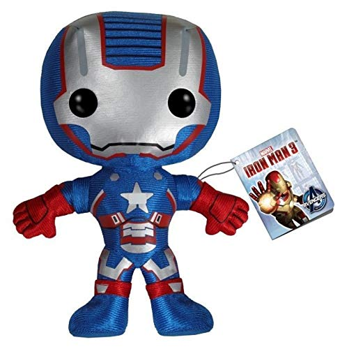 NEW ANIME FNKO Marvel Comics The Avengers Iron Patriot Plush PLUSHIE Figure