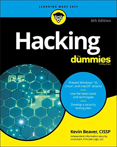 Hacking For Dummies, 6th Edition Front Cover