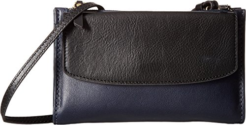 Fossil Women's SAGE Mini Bag, Black Midnight Navy, One Size