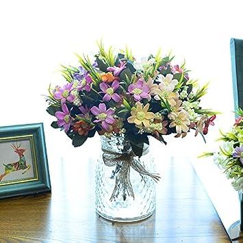 Simulation Blumenornamenten Set Aus Keramik Und Kunststoff Dekoration Blumen  Topf Topfpflanzen Ganze Blume Silk Flower False