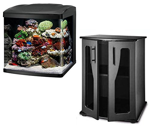 990bad0affc BioCube Coralife Size 32 LED Aquarium   Stand (New Improved Version) Combo