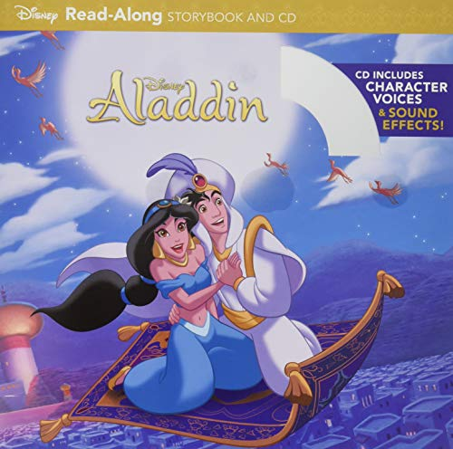 Aladdin Read-Along Storybook and