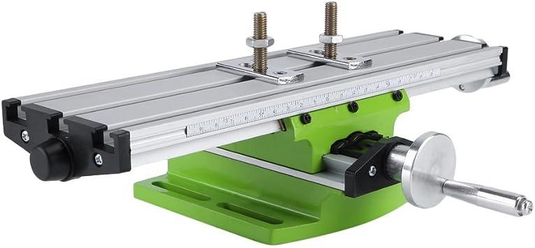 sweepid perforación mesa Tornillo Cruz mesa multifunción fresado de trabajo Mesa Mesa de fresadora de coordenadas Rebajadora de mesa Cruz Support: Amazon.es: Bricolaje y herramientas