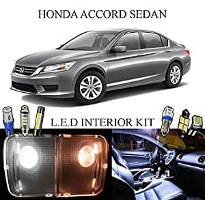 Led lights for 2013 2015 honda accord sedan - 2015 honda accord interior illumination ...