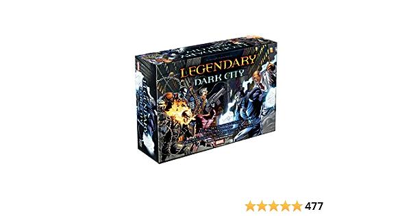 Marvel Deck Building Game Legendary Dark City Expansion