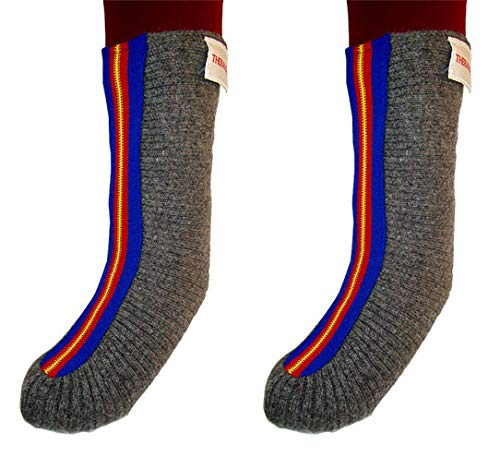 European Style 100% Wool Bed Socks RN Designed Improves Circulation for Diabetes, Neuropathy Thermasok