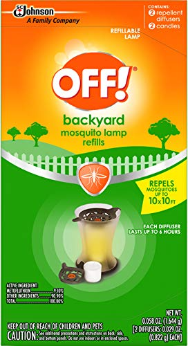 (OFF! Mosquito Lamp Refill, 2 CT (Pack -)