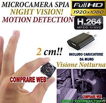 MICRÓFONO OCULTO SQ8 Spy Habitación Luz FULL HD MOVIMIENTO DETECCIÓN DE CÁMARA