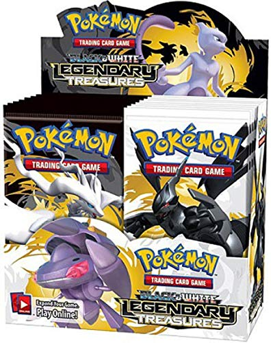 Pokémon Trading Card Game: Black & White Legendary Treasures Booster Display (36 Boosters) ()