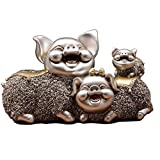 Decoration Pig Ornament Sculpture Decoration, Crafts Living Room Wine Cooler, Children's Gift Decoration
