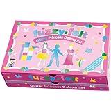 Toy Brokers Fuzzy-Felt Glitter Princess Deluxe Set