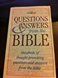 Questions and Answers from the Bible, Barbour Books Staff, 1557489599