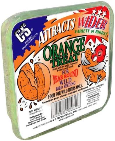 C S Products Orange Treat, 12-Piece