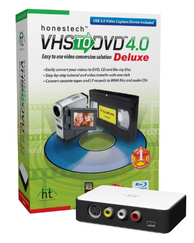 VHS To DVD 4.0 Deluxe [OLD VERSION] (Vhs Deluxe Dvd)