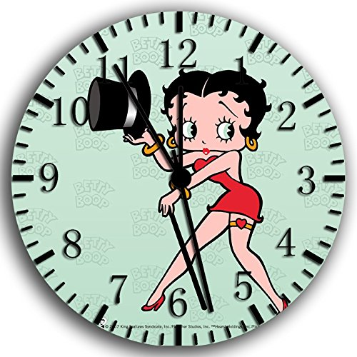 Betty Boop Frameless Borderless Wall Clock W190 Nice for Gift or Room Wall Decor