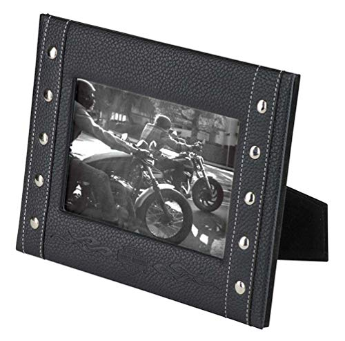 Harley-Davidson Bar & Shield Flames Picture Frame - Holds 4x6 Photo HDX-99139