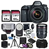 Canon EOS 6D Mark II DSLR Full Frame Camera + EF 24-105mm f/4L is II USM Lens Professional Accessory Deluxe Bundle Review