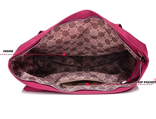 Bag Handbag SIZE Waterproof Travel LARGE Size Maternity Shoulder Tote Women Shopping Fashion Bag Red Bag HUGE EXTRA Nursery Changing Wine Cabin Bag Ladies Beach 41x18x38cm 4YwEHqq