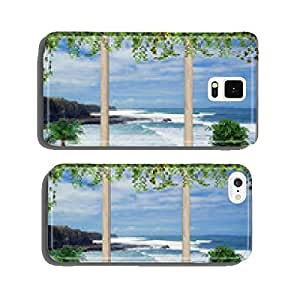 Terrace with views of the ocean, Portugal cell phone cover case iPhone5