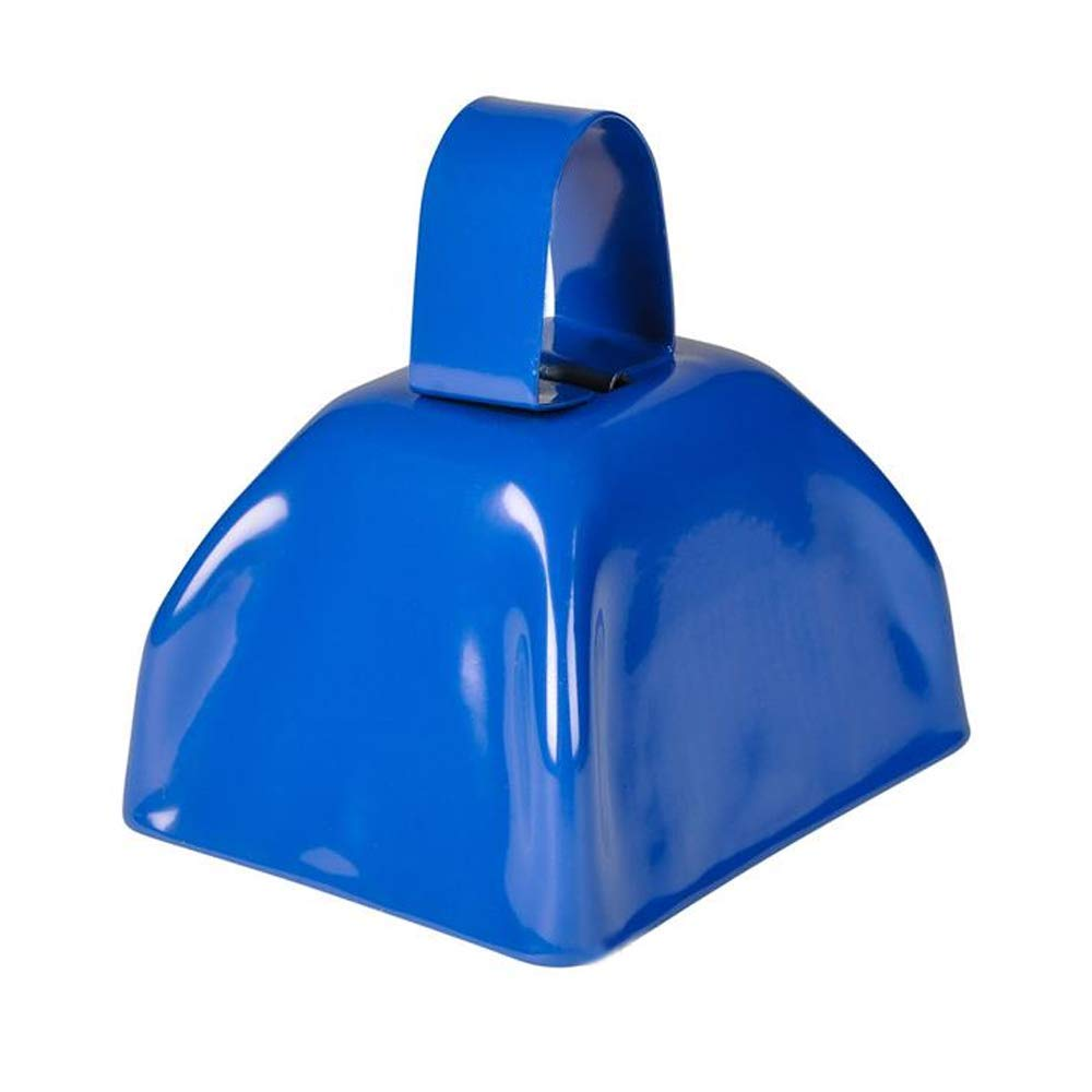 Rhode Island Novelty Blue Metal Cowbell | 3-Inches | 36-Pack by Rhode Island Novelty