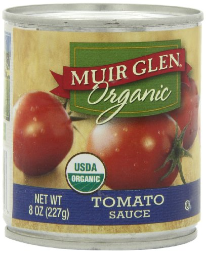 Muir Glen Organic Tomato Sauce, 8-Ounce Cans (Pack of 24)