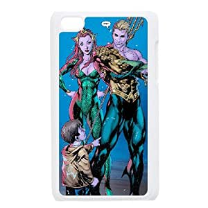 Ipod Touch 4 Phone Case for Aquaman pattern design