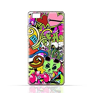 Huawei P8 Lite TPU Silicone Case with Graffitii Hip Hop 2