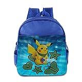 KIDDOS Infant Toddler Kids Pokemon Backpack Bag, RoyalBlue