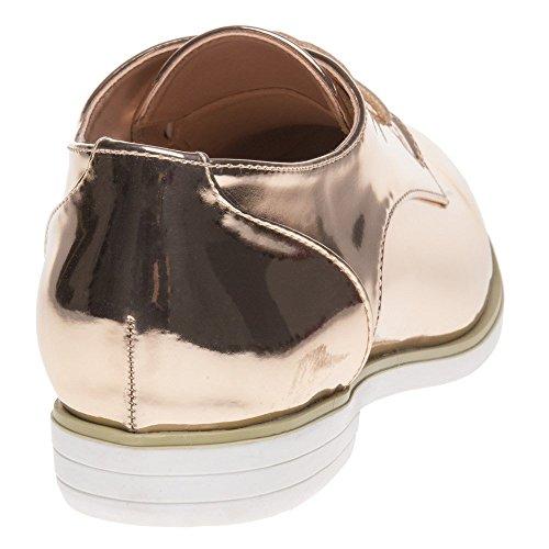 Dolcis KIA Damen Schuhe Gold Gold