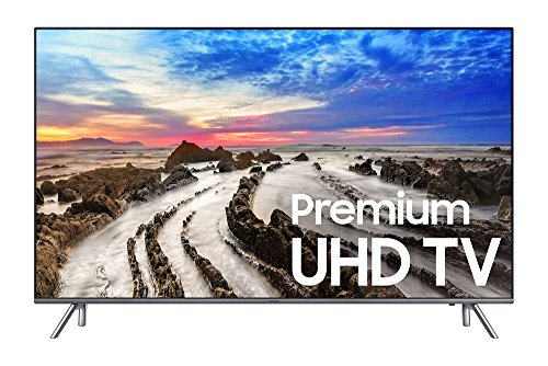 "Samsung UN55MU8000 55"" 4K Ultra HD Smart LED TV (2017 Model), Gray"