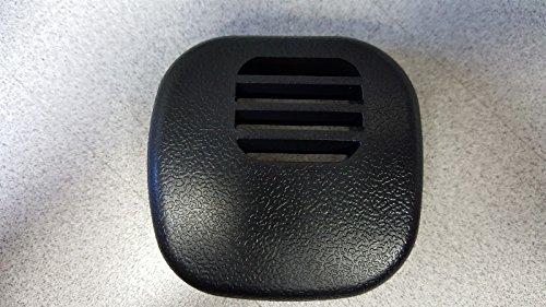 (97-04 Corvette C5 Center Dash Temp Sensor Grille Vent Cover 10268306 Black NEW)