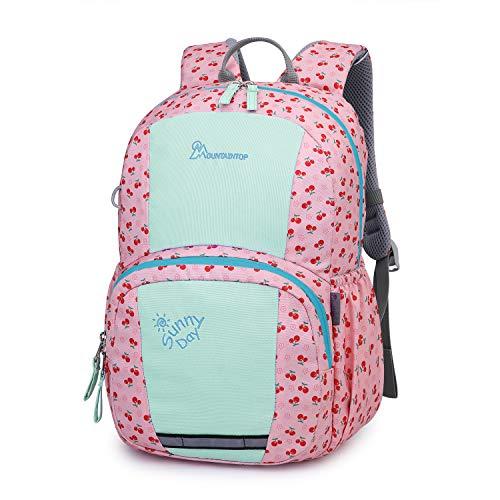 Mountaintop Kids Backpack/Toddler Backpack/Pre-School Kindergarten Toddler Bag (Pink-6030M) (Best Backpack For Kindergarten Girl)
