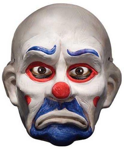 Joker Mask Dark Knight (Rubies Batman The Dark Knight Child's The Joker Clown Full Mask)