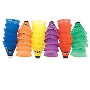 BSN Shuttlecocks, Multicolor, 36 count