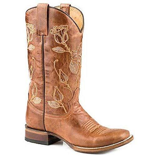 Women's Roper Desert Rose Boots Handcrafted