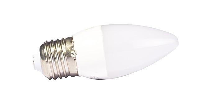 Liteway 5 W ES E27 vela bombilla LED, 40 W de repuesto tradicional, 400