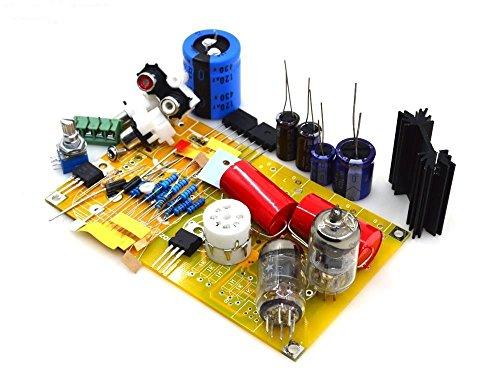 6J1 Tube Preamplifier Kit Diy Vacuum pre amp board PRT-01A (Kit Preamplifier Stereo)