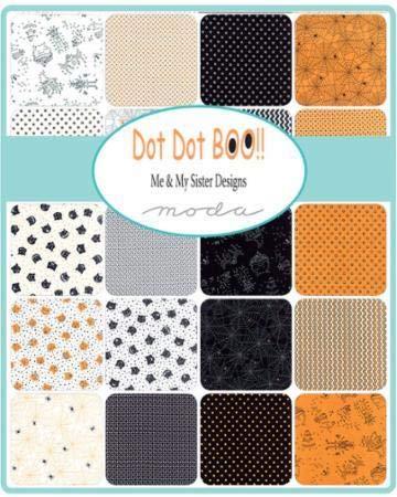 Moda Dot Dot Boo Layer Cake by Me & My Sister Designs -