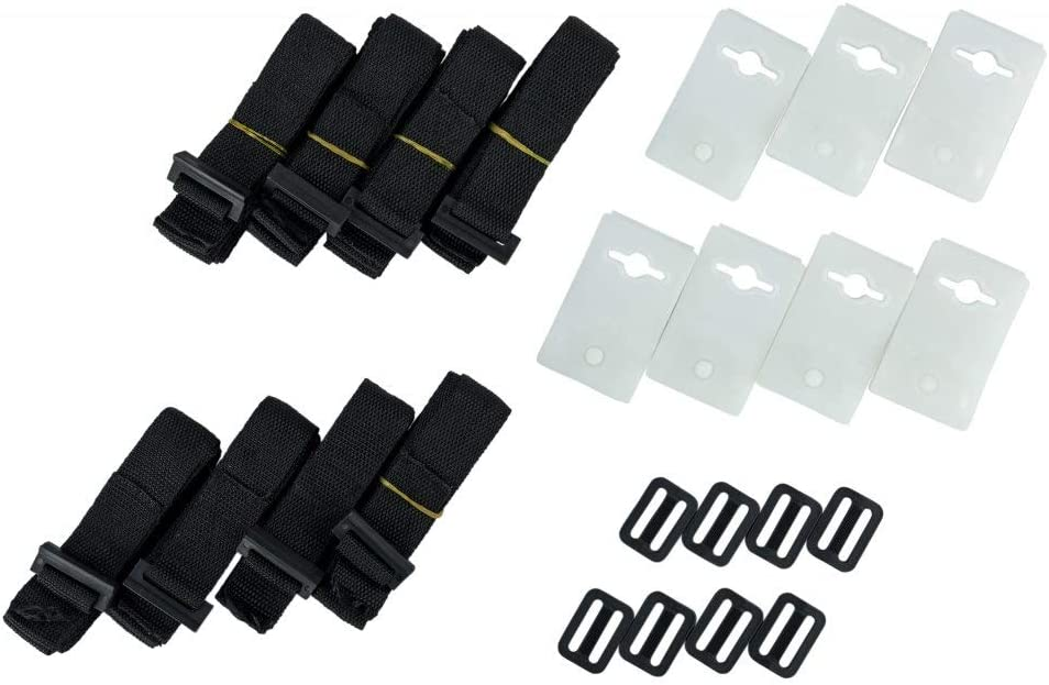 Pool Cover Roller Attachment Straps Kit Swimming Pool Solar Cover Reel-Accessory